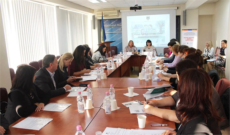 Strategic vision of specialized child protection services was presented in Chisinau