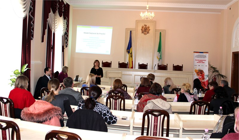 The National Practice Model ensuring the well-being of every child will be piloted in Calarasi, Falesti, and Ungheni regions