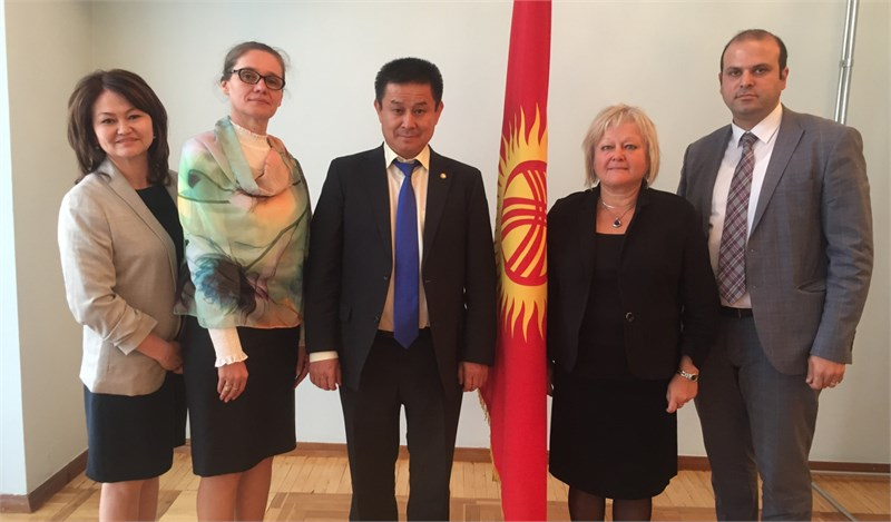 The ordinary meeting of the working group on reforming the residential system in Kyrgyzstan was held