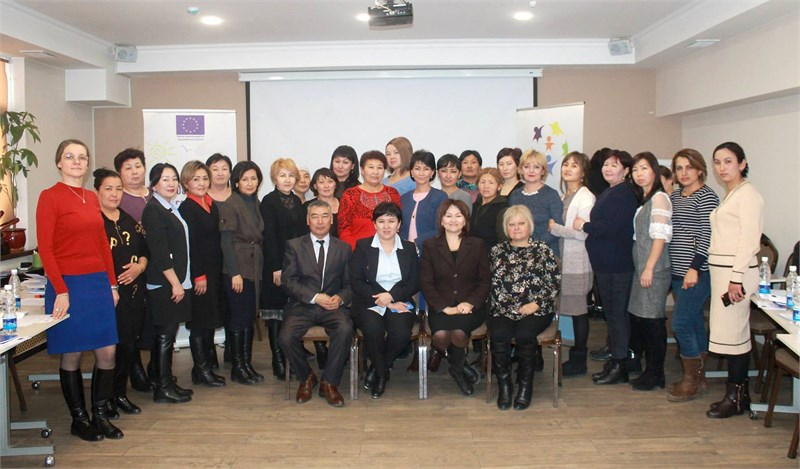 Building the capacities of Kyrgyz public authorities to develop services for families with children at risk