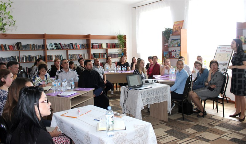 Frăsinesti community in Ungheni district supports Education for Health among young people