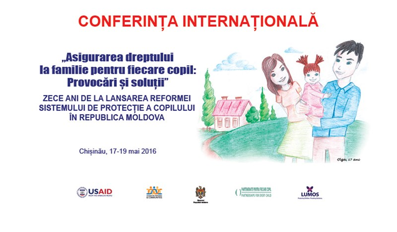 Every child's right to a family discussed by international and national experts in Chisinau
