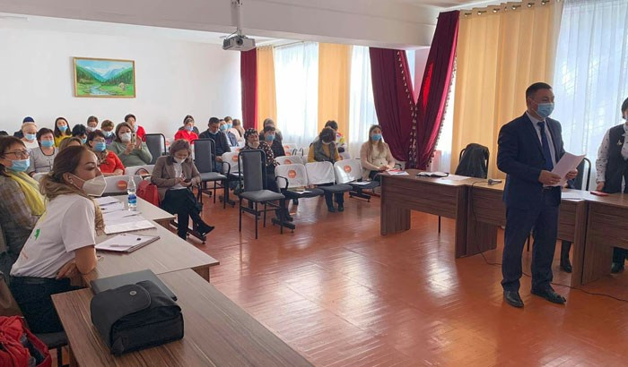 Training in inclusion for the educational institutions in Sokuluk and Ysyk-Ata districts, Kyrgyzstan
